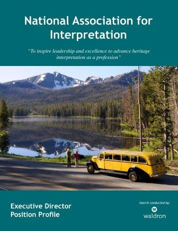 National Association for Interpretation