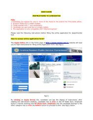 User Guide for Notification No. 06/2008 , INSTRUCTIONS TO ...