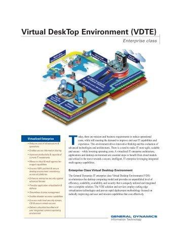 Basics of VDI - General Dynamics Information Technology