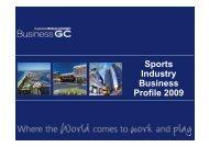 Sport 2009 - Business Gold Coast
