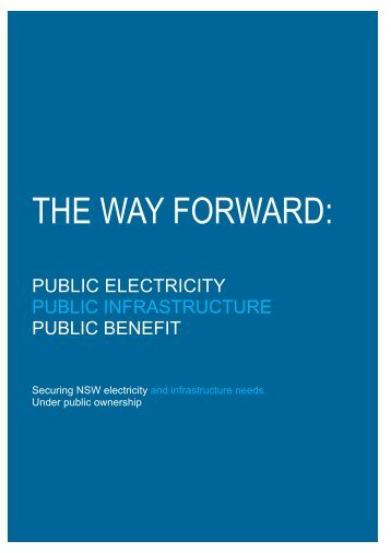 The-Way-Forward-Public-Electricity-Public-Infrastructure