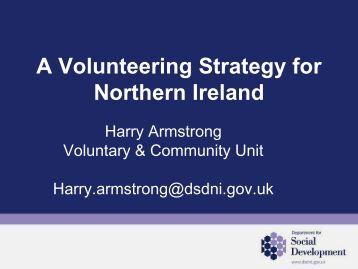 Volunteering Strategy - Community Development Health Network