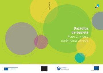 Dažādība darba vietā, MVU - Latvijas Amatniecības kamera