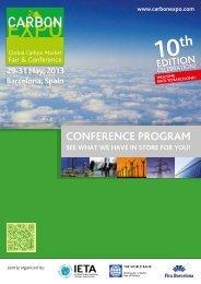 Conference Program Overview - IETA