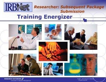 Training Energizer - Genesis Health System