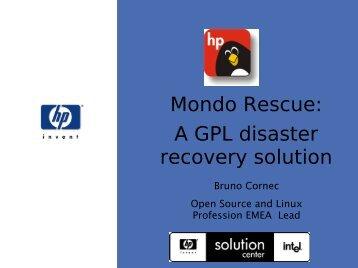 Mondo Rescue - (RMLL) 2009