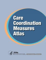 Care Coordination Measures Atlas - Data Resource Center for Child ...