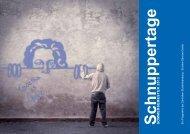 Programmheft Schnuppertage 2013