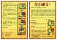 Vorwort zur 1. Auflage von RUMIS+ RUMIS Spielregeln