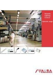 Hytronik lighting control catalogue - Aura Light