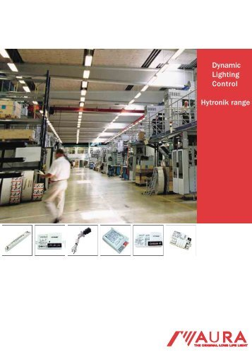 Hytronik lighting control catalogue - Aura Light