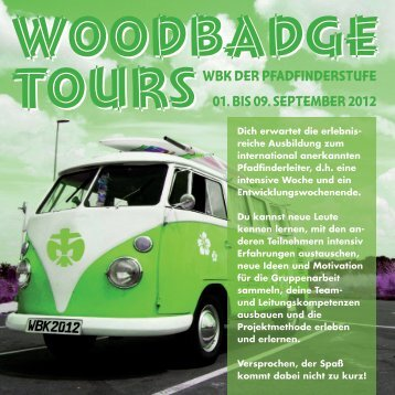 tourS woodbadge tourS woodbadge WBK der ... - DPSG Passau