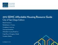 Affordable Housing Resource Guide - San Diego Housing ...
