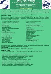 CALL FOR PAPERS fdsaf