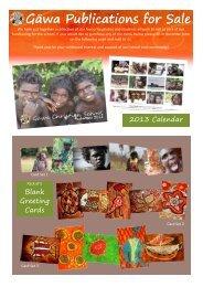 Gäwa Publications for Sale - Gawa Christian School Website