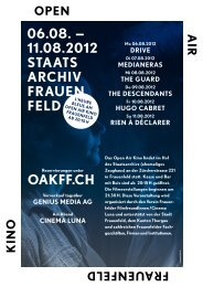 11.08 Open Air Kino 2012 - Cinema Luna