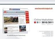 Online Mediadaten 2010/2011 - Feuerwehr-Magazin