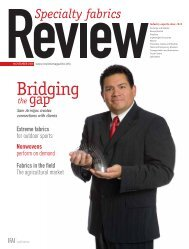 Review, November 2008, Digital Edition - Specialty Fabrics Review
