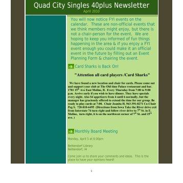 Quad cities singles line
