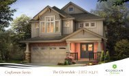 Craftsman Series The Cloverdale - 2852 sq.ft. - Reid's Heritage Homes