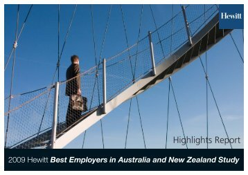 Beanz Highlights 2009 Brochure - Aon Australia