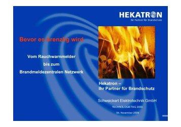 Hekatron Vertriebs GmbH