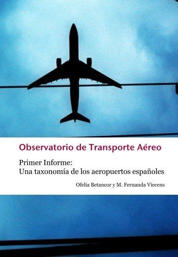 Observatorio de Transporte Aéreo - Fedea