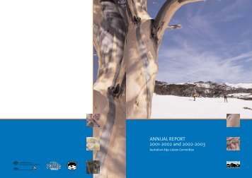 Australian Alps Liaison Committee Annual Report 01 | 03 (PDF 795 ...
