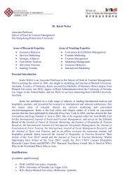 Download CV - School of Hotel & Tourism Management - The Hong ...