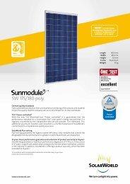 Sunmodule SW 180 - Alternagy