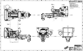 Installation Drawings (ISX12 Workover Rig Package
