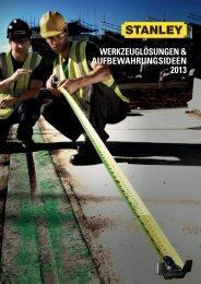 Werkzeuglösungen & aufbeWahrungsideen 2013 - Reiter Werkzeuge