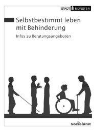 Selbstbestimmt leben mit Behinderung - KOMM Münster