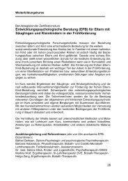 Donnerstag / Freitag, 20 - Arbeitsstelle Frühförderung Bayern