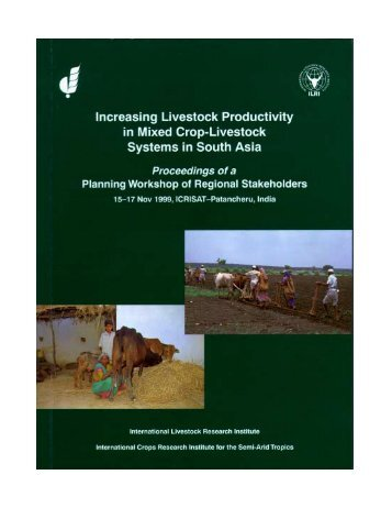 Crop Livestock Systems in Bangladesh - CGSpace Home - cgiar