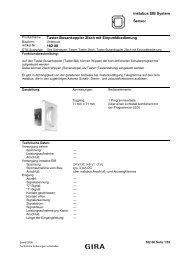 instabus EIB System Sensor Taster-Busankoppler 2fach ... - Eibmarkt