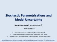 Stochastic Parametrisations and Model Uncertainty - Convection
