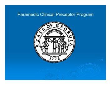 Preceptor Course