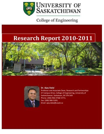 Research Report 2010-2011 - College of Engineering - University of ...