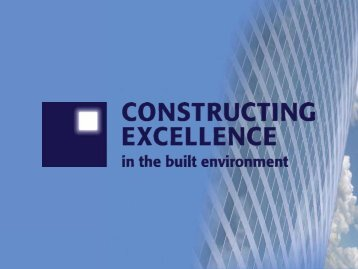 Demonstrations - Constructing Excellence