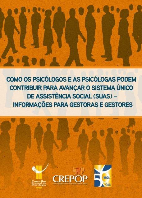 GestoresSuasfinal.pdf - Conselho Federal de Psicologia