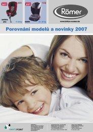 Porovnání modelů a novinky 2007 - AUTO design PLUS