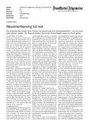 Neuorientierung tut not - Rudolf X. Ruter