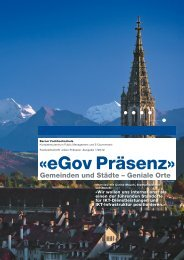 01/2012: eGov Präsenz - eZürich