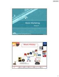 Music Marketing Conference - Mahidol University