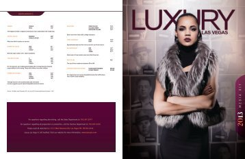 Download the Luxury Las Vegas Media Kit