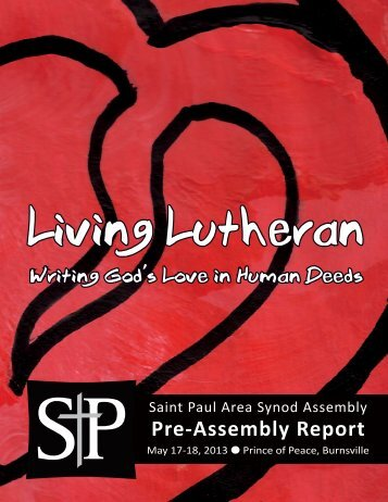 Download the 2013 Pre-Assembly Report - Saint Paul Area Synod