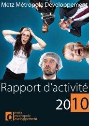 Notes - Metz Métropole Développement