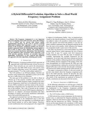 A Hybrid Differential Evolution Algorithm - Proceedings of the II ...