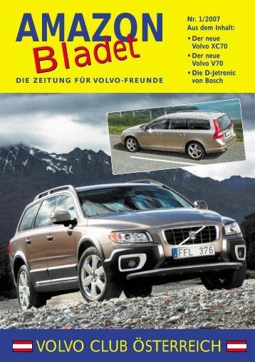 Amazon Bladet 1/07 - VOLVO Club Österreich